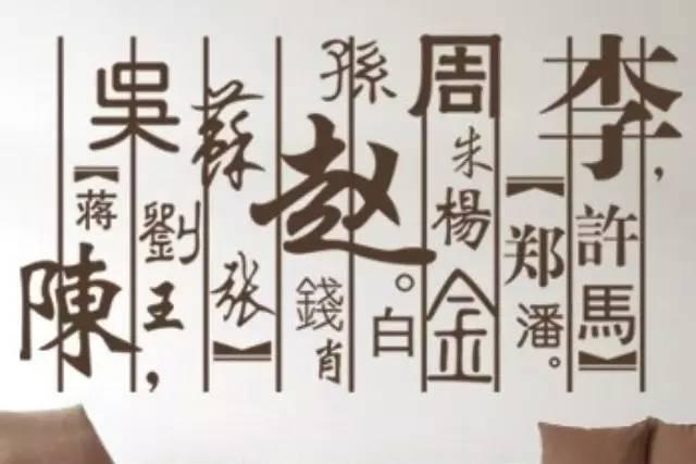 中国姓氏发展史