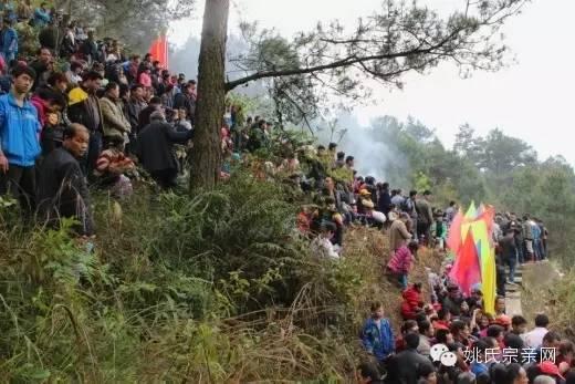 30日广西桂平市马平姚氏举办清江公诞辰466周年祭祖盛典