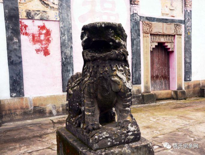 四川宣汉毛坝镇冒尖村姚氏宗祠建于1883年,凝姚姓全族之力,聚姚姓全族之资修建成功。